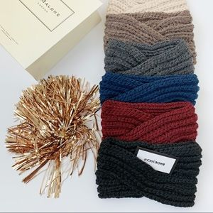 Chunky Cozy Knitted Headband - FAWN
